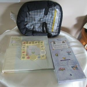 Other - Lot Sale Baby Book / Head rest / Babysitter Porfol